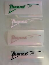 Ibanez JEM Headstock Logo Decal - Pick Your Colors (LNG, SK, DY, GMC, PMC, etc)