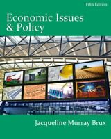 Economic Issues and Policy by Jacqueline Murray Brux 5th Edition (Paperback)