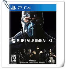 PS4 Mortal Kombat XL SONY Warner Home Video Action