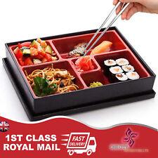 Caja De Almuerzo Bento Caja japonés Palillos arroz Sushi Catering Reino Unido Reutilizable