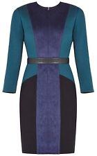 New with defect $248 BCBG Max Azria Beatriz Faux-Suede B728 Dress Sz M