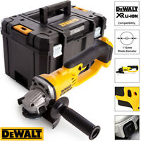 DeWalt DCG412N 18V XR Cordless Angle Grinder 125mm With Heavy Duty Tstak Case