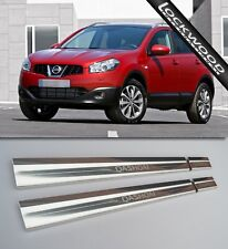 Nissan Qashqai (5 seater) Mk1 2007-2013 Stainless Sill Protectors / Kick Plates