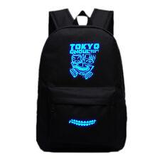 2017 Anime Tokyo Ghoul Backpack School Bag Sport Laptop Bags Sack Luminous Black