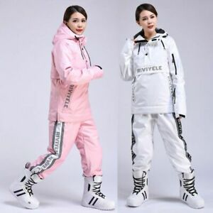 Women's Winter Ski Suits Breathable Waterproof Coat Snowboard Skiing Snow Suit