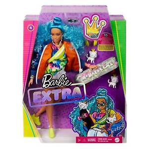 Barbie EXTRA #4 with Skateboard and 2 Kittens. Brand New Boxed Doll. NRFB.