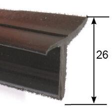 Flocked Window Trim Drip Seal For Door Panel Sold In Metre Lengths