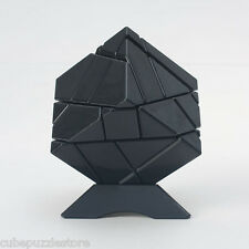 Ghost Ninja 3x3x3 Irregular Magic Cube Twist Puzzle Stickerless Fancy Toys Black
