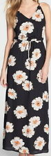 Ivanka Trump Floral Print Georgette Maxi Dress Size 14