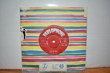 THE BEATLES ORIGINAL 1963 RED PARLOPHONE 45 PLEASE PLEASE ME