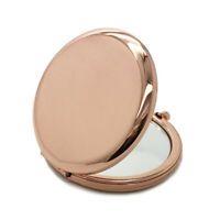 Women Portable Pocket Mirror Compact Double Side Cosmetic Round Makeup Tool