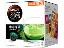 Nestle Nescafe Dolce Gusto Uji Kyoto Matcha Green Tea Flavor Capsules Pods 16P