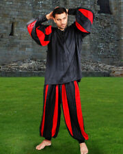 Men's European Medieval Pants, High quality finest fabric, handmade one by one!!
