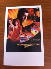 A4 A2 A1 A3 James Bond 007 The World is Not Enough Vintage Movie Poster