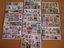2500  verschiedene Briefmarken ,Motive ,  Tiere , Auto , Eisenbahn , Flora