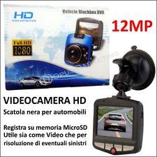 MINI VIDEOCAMERA MONITOR HD SCATOLA NERA 12MP UNIVERSALE AUTO CAMERA MONITOR SD