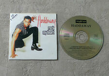 "CD AUDIO MUSIC INT/ HADDAWAY ""ROCK MY HEART"" 1994 CDS 2T SCORPIO MUSIC 190 604.2"