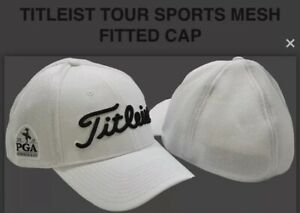 Titleist 2019 PGA Championship Bethpage Black Golf M/L Fitted New Hat Cap White
