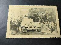 "2 WK  Foto  Panzer  Pz.Kpfw. VI ""Tiger I"" Ausf Н/Е (Sd.Kfz.181)"