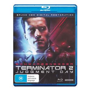Terminator 2: Judgment Day Blu-ray New Sealed Region B - Arnold Schwarzenegger