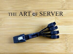 HP Z800 workstation SAS-2 conversion cable SFF-8087->4xSATA MALE 676918-001