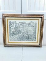 Wendell G Williamson Limited Edition Signed Numbered Print Pencil Art TX Artist