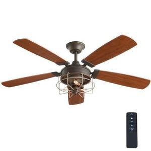 Home Decorators Collection Toledo 52 in. Oil-Rubbed Bronze Ceiling Fan