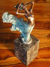 Statua di Bronzo Vergine Marmo Scultura erotico signora atto VENERE Dea PERSONAGGIO PREZIOSI