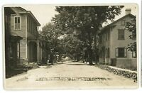RPPC Front St at 2nd NEW COLUMBIA PA Union County White Deer Real Photo Postcard