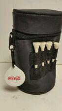 Coca Cola Mini Golf Bag with Tees and Balls