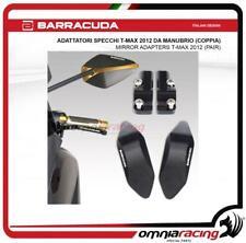 Barracuda coppia supporto adattatori specchietto a manubrio Yamaha Tmax 530 2012
