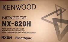 NEW KENWOOD NX-820HGK 450-520MHZ UHF 45WATTS NXDN/ANALOG & BUILT IN GPS RECEIVER