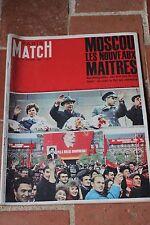 Paris match n°812 -1964 - Moscou les nouveaux Maîtres - Sartre - Quintuplés