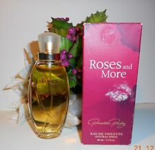 """Roses and More""  by Priscilla Presley Eau de Toilette 1.7 FL.OZ."