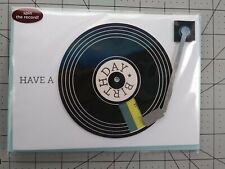 Papyrus Spinning Record Happy Birthday Card