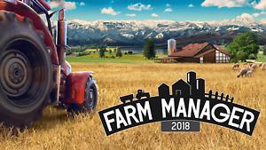 FARM MANAGER 2018 steam key Global Region Free