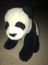 Panda Bear Plush Vintage Gund 14 Inches Tall Ling Soo 2327 Rare