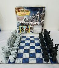 HARRY POTTER WIZARDS CHESS 2002 Mattel 32 Piece Set Complete w/ Instructions