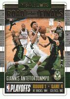 2018-19 NBA Hoops Road to the Finals #27 Giannis Antetokounmpo R1 /2018 Bucks