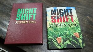 Stephen King NIGHT SHIFT Slipcase CEMETERY DANCE 2020 Limited Edition