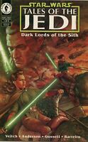Star Wars Comic Issue 1 Tales Of The Jedi Dark Lords Of The Sith Modern Age 1994
