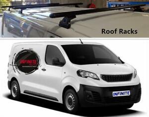 Set of 3 Heavy Duty Roof Racks Suitable Peugeot Expert 2019-2020