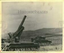 1962 Press Photo U.S. Army Tanks - sam05108
