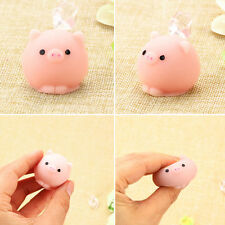 Kawaii Soft Pig Ball Squishy Healing Squeeze Fun Kids Toys Stress Reliever New