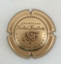 capsule champagne NICOLAS FEUILLATTE n°30c or bronze et noir
