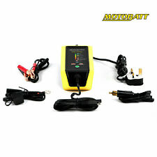 Motobatt Fat Boy Lithium Motorcycle Scooter Battery Charger Optimiser Maintainer