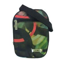 Small shoulder bag COMIX double pocket with zip fantasy graffiti in cordura 19,