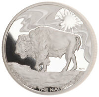 2019 Smithsonian Zoo Buffalo 1 oz Silver Commemorative Medal GEM Proof SKU55367