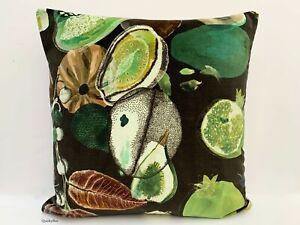 """Christian Lacroix Nouveaux Mondes Soft Manaos Fabric Cushion Cover 18"""" x 18"""""""