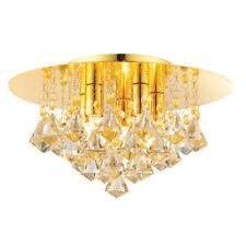 Lampadari da soffitto G9 in oro da 4-6 luci